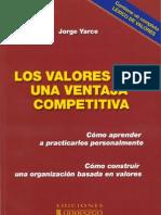 Los valores son una ventaja competitiva