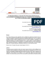 OS PROFESSORES E O USO DE TECNOLOGIAS DIGITAIS NAS AULAS- UM CASO DE PERNAMBUCO