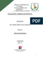 TALLER FARMACOCINETICA2020