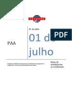 PAA  2021- Plano de Atendimento ao Acidentado