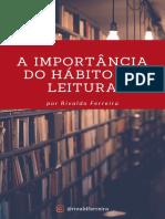 A IMPORTÂNCIA DO HÁBITO DA LEITURA