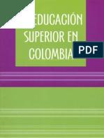 La educación superior en Colombia