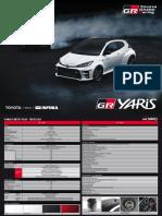 Toyota GR Yaris - Ficha Técnica