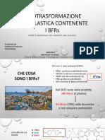 Fototrasformazione Della Plastica Contenente i BFRs