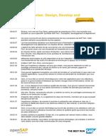 OpenSAP Fiori3 Week 1 Transcript Fr