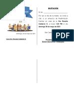 ALMUERZO DE REAFIRMACION FAMILIAR