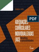 Adequações Curriculares Individualizadas (ACI) Desafios e Possibilidades