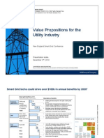 Value proposition for the utility industry