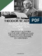 (AS8) Adorno