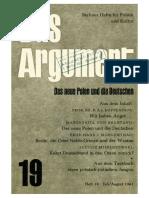 DA019 Das Neue Polen Und Die Deutschen