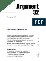 DA032 Faschismus-Theorien (II)