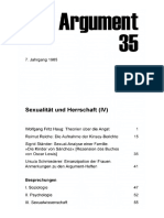DA035 Sexualität Und Herrschaft (IV)