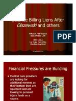 Balance Billing Liens After Olszewski and others