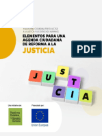 Elementos para una Agenda Ciudadana de Reforma a la Justicia
