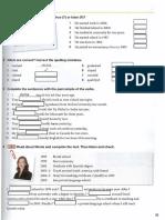 Regular verbs interactive worksheet