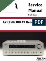Arcam Avr250 300-Av Sch