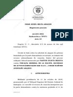 AL1231-2021 Se Debe Conceder Amparo de Pobreza Por El Hecho de Indicar Bajo Gravedad de Juramento