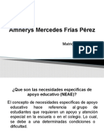 Amnerys  Frías  NEAE exposicion