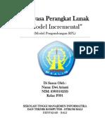 Incremental Model (model pengembangan RPL)