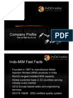IndoMIM Company Profile
