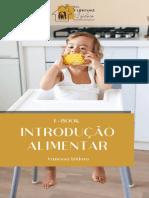 E-book INTRODUÇÃO ALIMENTAR (2
