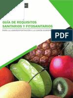 pag. 14 GUÍA DE REQUISITOS SANITARIOS Y FITOSANITARIOS P
