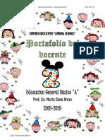 Portafolio del docente_segundoA_2019
