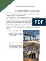 TIPOS DE CONSTRUCCIÓN SEGÚN SU ESTRUCTURA