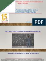 PRESENTACION PAPELES DE TRABAJO