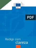 0 Redigir Com Clareza [Comissão Europeia - 16p.]