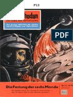 P-013 - A FORTALEZA DAS SEIS LUAS - K. H. SCHEER - PROJETO FUTUR╢MICA ESPACIAL