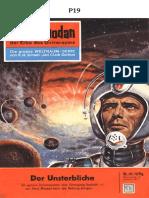 P-019 - O IMORTAL - K. H. SCHEER - PROJETO FUTUR╢MICA ESPACIAL