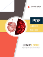 QCM sémiologie Unité 4