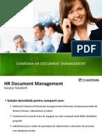 Charisma HCM Document Management