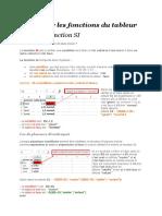 Les fonctions avancées Excel niveau 3