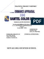 Samtel colour_ PErformance Appraisal