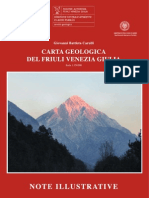 Note Illustrative carta geologica fvg