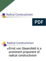 Radical Constructivism