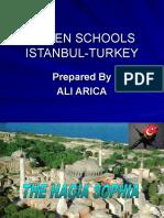 Class Powerpoint on the Hagia Sophia by Ali-Arica at Bilfen Schools, Istanbul, Turkey