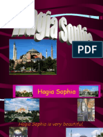 Class Powerpoint on the Hagia Sophia by Duru at Bilfen Schools, Istanbul, Turkey