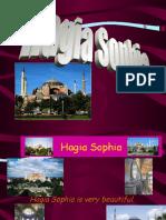 Class Powerpoint on the Hagia Sophia by Duru at Bilfen Schools, Istanbul, Turkey