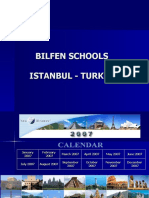 Class Powerpoint on the Hagia Sophia by Students at Bilfen Schools, Istanbul, Turkey