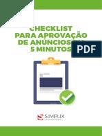 Checklist de Anúncios