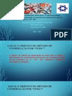 TPA - TE - Uso do ultrassom em pescados  e frutos do mar