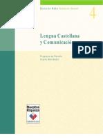 Programa Lenguaje y Comunicación Cuarto Medio