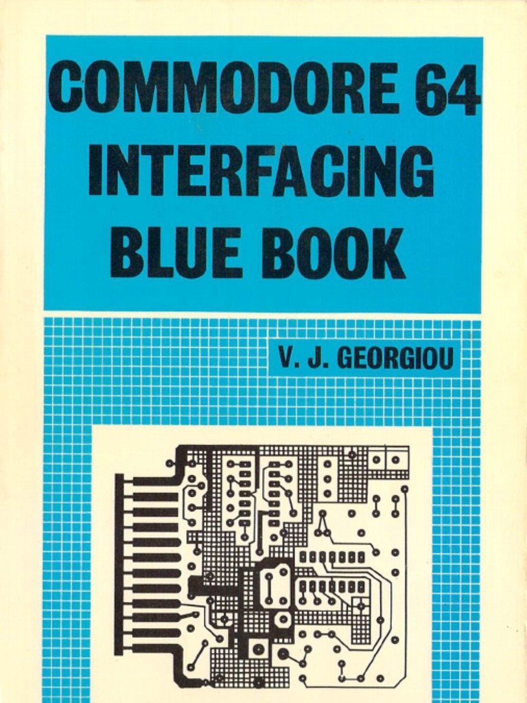 Commodore 64 Interfacing Blue Book | Electrical Connector | Signal ...