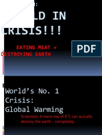 From Earth World in Crisis