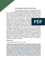 LIVRO - Ensino de História, diversidade e Educação antirracista - Editora Brazil Publishing (ago 2020)