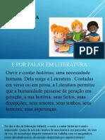 Literatura  Infantil slide