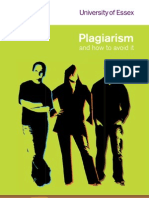 Plagiarism and How to Avoid It 2009